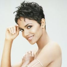 My pixie hair style :) I usually ask for a Halle Berry hair cut .. That's what I call it :)