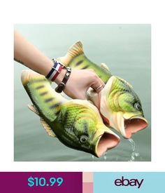 099bb35b17fe Unisex Accessories Emulational Fish Style Soft Sandals Beach Slippers  Casual Shoes For Women Men
