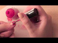 DIY · Heart Nails · Uñas con Corazones ·