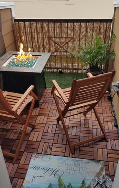 Fresh Small Fire Pit for Balcony