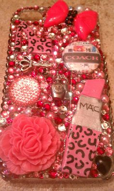 Iphone 4 Coach Bling Deco Case by BlingGlam on Etsy, $40.00