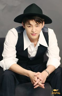 yeah...that's Seo In-guk — phi3nk:  Behind The Photoshoot of 1st Look (Part...