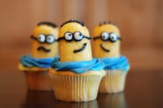 Minion Party Ideas | also saw this idea for cute little Twinkie Minions. They were a hit ...