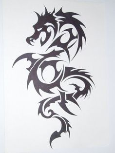 dragon tatoo by ~kenofchaos on deviantART