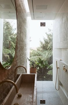 Home Design Plans, Home Interior Design, Interior Architecture, Spa Bathroom Design, Riverside House, Bathroom Design Inspiration, Loft, Home Look, Home Fashion