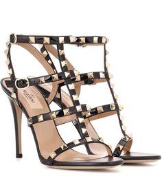 Valentino Valentino Garavani Rockstud patent leather sandals
