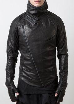 Delusion Insanity Leather Jacket Black