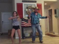 My daughter and I dancing to the whip spending quality time together and just having a great time for Father's Day. on Facebook this video has almost 2,000,000 views in a week and a half. Just a simple message in the background with the American flag to…
