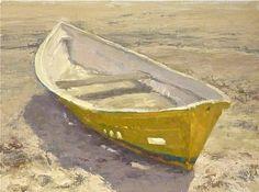 Old Friend by Jeffrey Horn, oil on linen