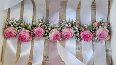 Flowers of Soul: Bratari cu flori Design Floral, Wreaths, Flowers, Home Decor, Decoration Home, Room Decor, Florals, Bouquet, Flower