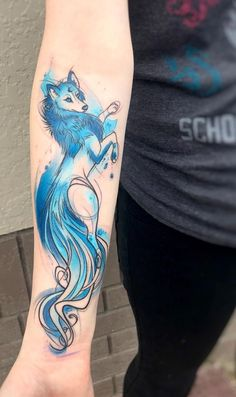 Legendary Watercolor Tattoos turn Your Body into a vibrant frame located Wolf . tires Legendary Watercolor Tattoos flip Your Physique right into a vibrant body situated Wolf & Wolf Tattoos, Sexy Tattoos, Unique Tattoos, Beautiful Tattoos, Body Art Tattoos, Tattoo Drawings, Wrist Tattoos, Tattoos For Guys, Sleeve Tattoos