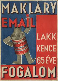 Budapest Poster Gallery is based in Budapest, Hungary, dealing in all kinds of original vintage posters and ephemera, offering worldwide shipping. Retro Ads, Budapest, Vintage Posters, Art Deco, Branding, Graphic Design, Modernism, 1930s, Google