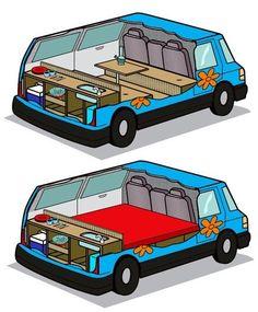 Small Camper van #campervan