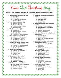 60 Family friendly Christmas trivia questions and answers | Christmas ...