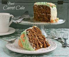 Best Carrot Cake with Cream Cheese Frosting - Wildflour's Cottage Kitchen