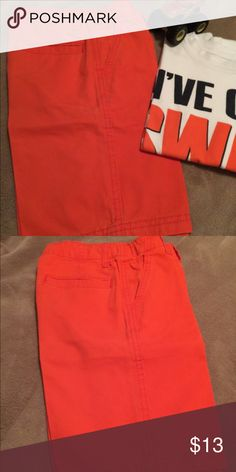 Orange shorts!!! Love these orange shorts for boys! Bottoms Shorts