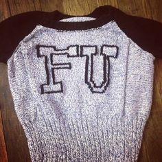 ... Because... F u #prettyoffensive #knitting #madewithlove