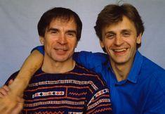 Nureyev and Baryshnikov, July 1986. Photo: Pierre Perrin.