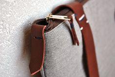 Zipper daypack 201 - minimalist backpack, InconnuLAB