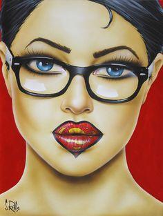 Super Lips | Scott Rohlfs Art
