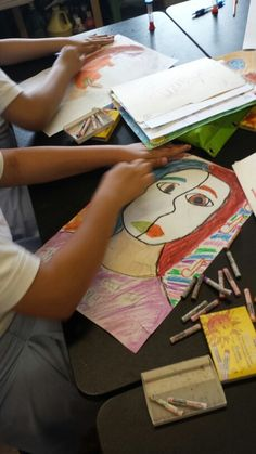 Picasso Inspired Self Portraits - Grade 5