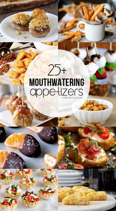Check out with these 25 Mouthwatering Appetizers! Try these out for your next get-together. There is sure to be one perfect for you and your guests!