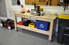 Garage Workbench Stool