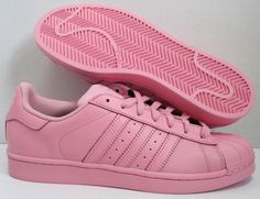 ADIDAS PHARRELL WILLIAM SUPERCOLOR LIGHT PINK S41829  $159