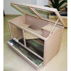 New Age Pet Eco-Concepts Park Avenue Small Animal Indoor Hutch at PETC - new home idea for the guinea pig. Bunny Cages, Rabbit Cages, Gerbil Cages, Diy Guinea Pig Cage, Guinea Pigs, Indoor Bunny House, Diy Bunny Toys, Rabbit Hutch Indoor, Netherland Dwarf Bunny