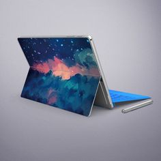 Surface Pro sticker Back Decal Cloud Microsoft by MixedDecal