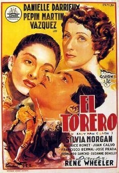 luis briones torero | Enciclopedia del Cine Español: El torero (1954)