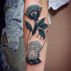 krishna hand hand tattoo traditional bydgoszcz