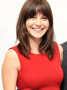 Jill Flint.  Like better without bangs!