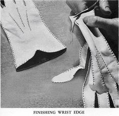 How to make Gloves ~ Section 1 - CoutureStuff