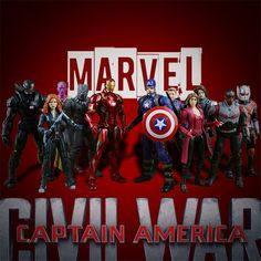 Action figure toys Captain America Civil War Action Black Panther Winter Soldier Falcon Scarlet Witch Vision Hawkeye Model colle #Affiliate