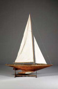 An 'A' Class Pond Yacht
