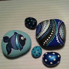Painted Stones by Steph Vigno