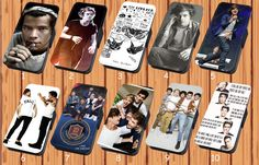 Harry Styles One Direction For Faux Leather Flip iPhone And Samsung Case Cover #NONGCHAO