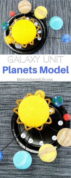 Love this STEAM planets project for Exploring Creation with Astronomy!
