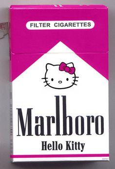 Malboro Hello Kitty yeah right! Rauch Tricks, Sanrio, John Rambo, Hello Kitty Items, Hello Kitty House, Bad Cats, Bad Kitty, Kitty Kitty, Hello Kitty Collection