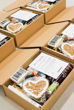 Corporate Curated Gift Boxes. Corporate swag should be well-curated, on-brand, and feel as luxurious as other types of gifts. Marigold & Grey does just that, by creating artisan gifts for all occasions. Image: Lissa Ryan Photography