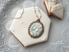 Necklace of a cameo