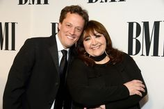 MAY 14, 2015 Composer Nathan Barr (L) and BMI Vice President of Film and Television Relations Doreen Ringer-Ross attend the 2015 BMI Film & Television Awards at the Beverly Wilshire Hotel on May 13, 2015 in Beverly Hills, California. (Photo by Frazer Harrison/Getty Images for BMI)