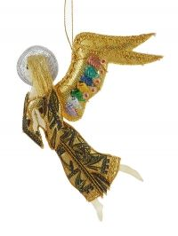St. Bride Angel with One Wing Christmas Decoration - FIGURE - Christmas Decorations