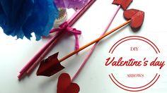 DIY valentine's day arrows.  Euterpe Mariana