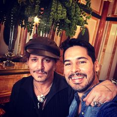 Dino Morea Has Fan Moment With Johnny Depp