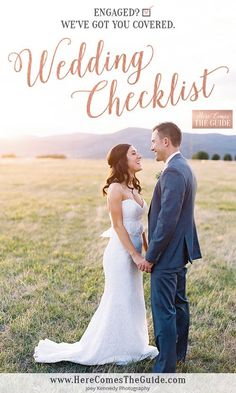 Wedding Planning Checklist brought to you by Here Comes The Guide