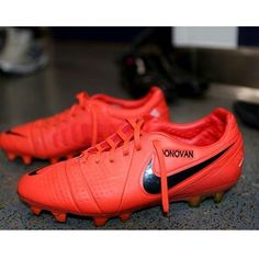 ... NIKE vapor ultimate football cleat. Landon Donovan's cleats