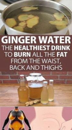 Ginger Water: the Healthiest Drink to Burn All the Fat from the Waist, Back and . - - Ginger Water: the Healthiest Drink to Burn All the Fat from the Waist, Back and Thighs – cluewell Detox Drinks, Healthy Drinks, Healthy Tips, Healthy Soup, Eat Healthy, Tea Drinks, Alcoholic Beverages, Healthy Living, Herbal Remedies