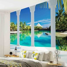 Details About WALL MURAL PHOTO WALLPAPER 2357P Beach Tropical Paradise  Arches Part 78
